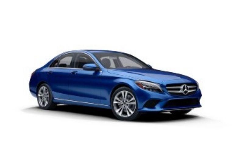 2021 Mercedes-Benz C-Class Brilliant Blue Metallic