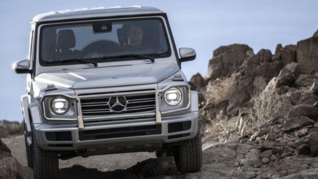 2021 Mercedes-Benz G 550 front view