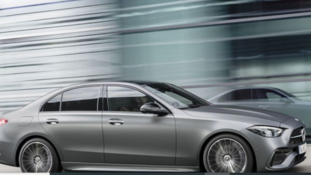 2021 Mercedes-Benz C 300 4MATIC side view