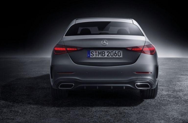 2021 Mercedes-Benz C 300 4MATIC rear view