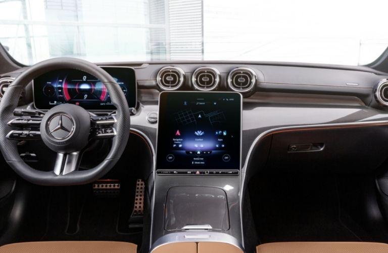 2021 Mercedes-Benz C 300 4MATIC interior