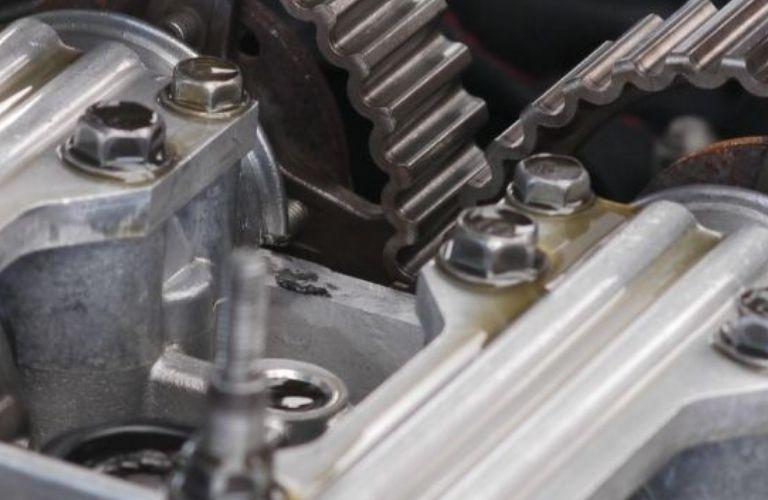 Image of a car camshaft